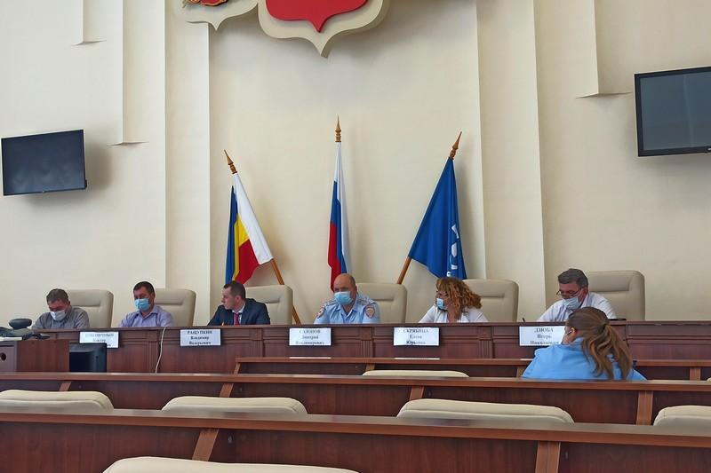 Очередное заседание антикоррупционной комиссии города Азова